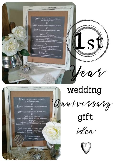 Year Wedding Gifts by Diy Wedding Anniversary Gift Idea