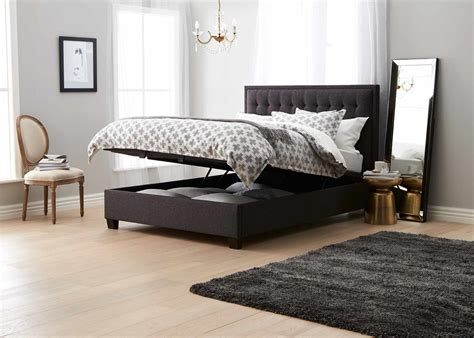 Bed Heads Only Basque Upholstered Bedhead Grey Bedroom Furniture