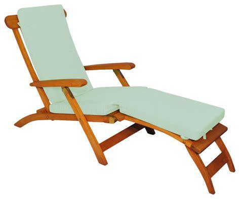 sunbrella chaise lounge chairs teak steamer chair chaise lounge with sunbrella cushion