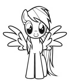 rainbow dash coloring page free coloring pages of my pony golden