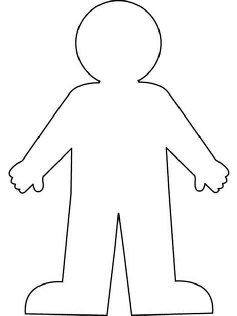 human body coloring pages free printable human body