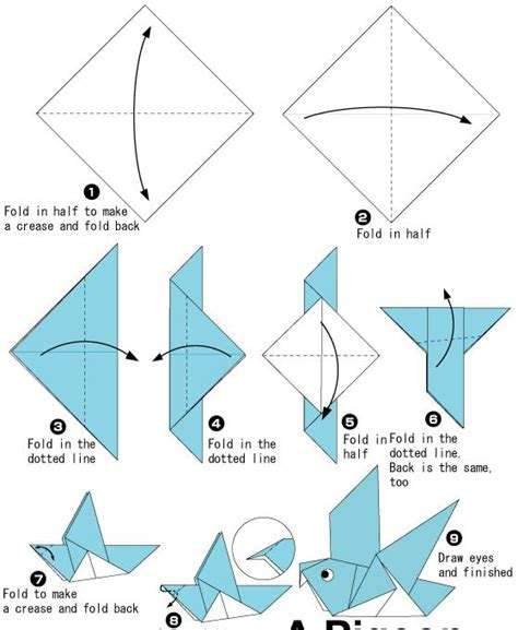 Easy Origami Animals For Beginners - simple origami animals for beginners comot