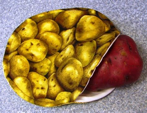 Potato Tutorial by Microwave Potato Bag Tutorial Sewing Projects