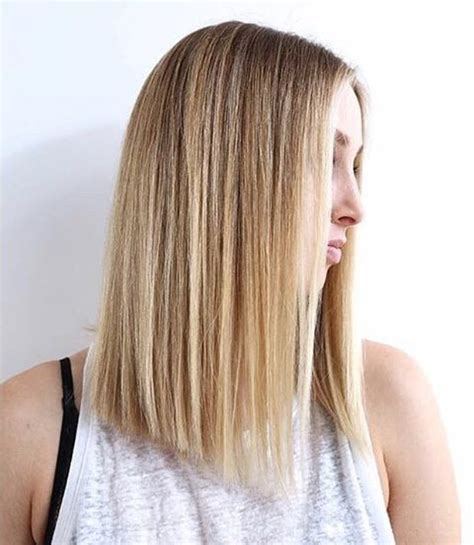 how to cut long layers in blunt hair style best 25 a blunt ideas on pinterest long blunt cut bob