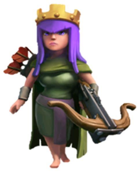 reine des archers | wiki clash of clans français
