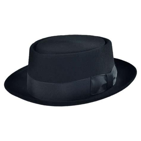 Porkpie Hat 2 bollman hat company 140 1940s pork pie hat made to