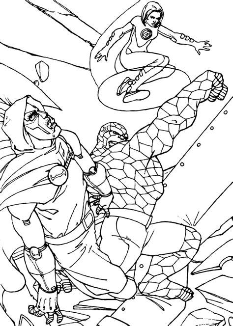 doctor doom coloring page doctor doom blasted coloring pages hellokids com