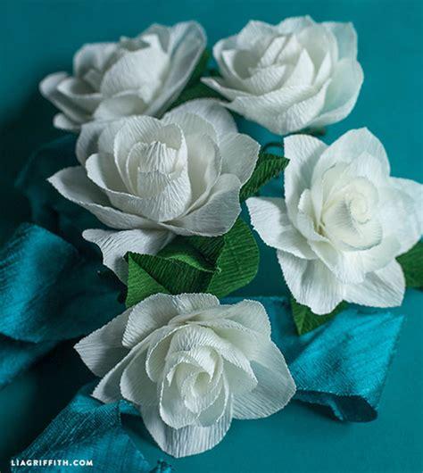 fiori di carta crespa fai da te bouquet fai da te