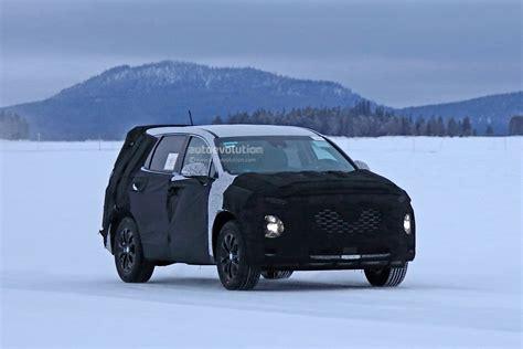 2018 Hyundai Santa by 2018 Hyundai Santa Fe Spied For The Time Autoevolution