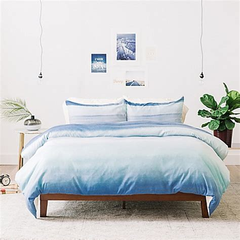 deny designs bedding deny designs amy sia ombre watercolor duvet cover bed