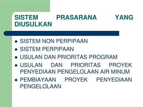 Sistem Perpipaan Teknologi ppt penyelenggaraan pengembangan air minum powerpoint presentation id 4620737