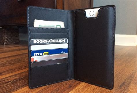 review stylish danny p leather wallet holds iphone