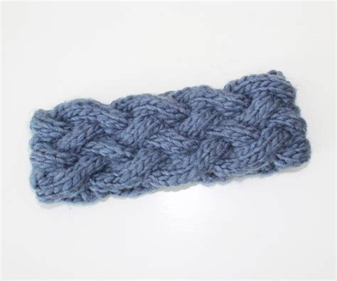 knit braid pattern owlswakeup diy braided knit headband free pattern