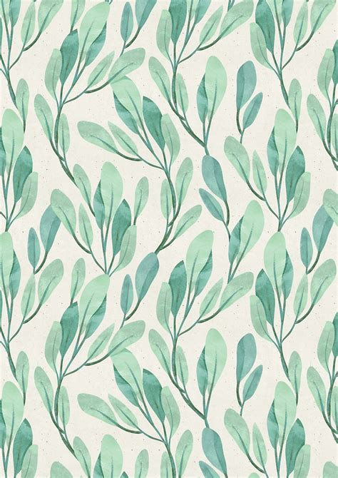pattern design nature simple teal by irtsya papapapapatterns pinterest