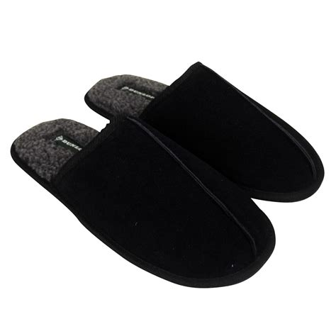 gents slippers uk mens dunlop luxury faux suede mule mules slippers gents