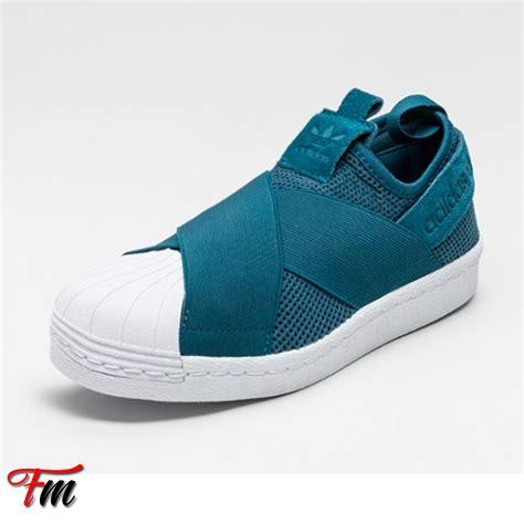 Adidas Superstar Slip On Easy Blue White Adidas Superstar Slip On Turquoise Herbusinessuk Co Uk