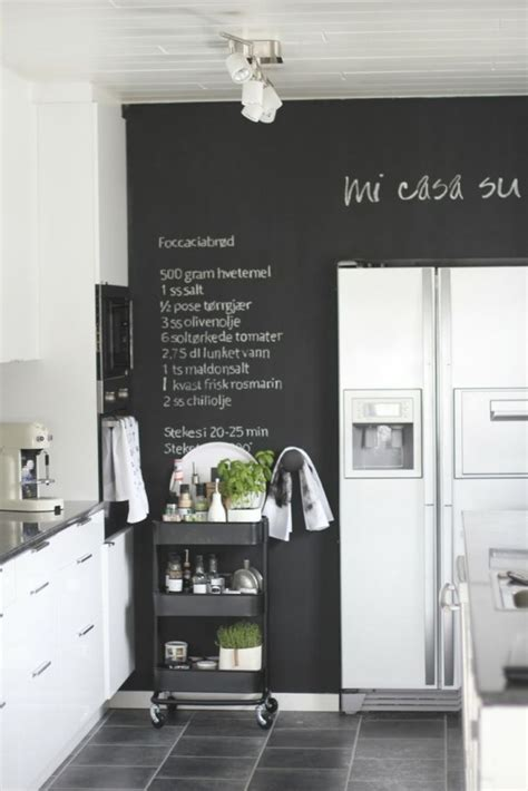 kitchen chalkboard wall ideas 35 creative chalkboard ideas for kitchen d 233 cor digsdigs
