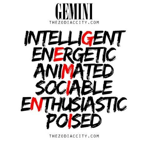 describing gemini for more information on the zodiac