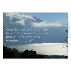 sympathy card wording for inspirational condolences