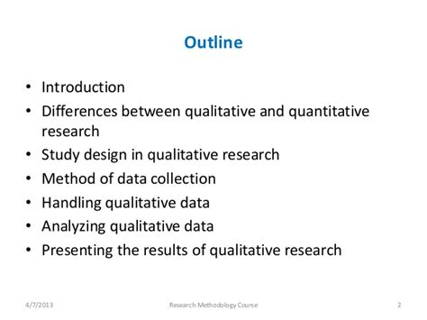 qualitative research template an introduction to qualitative research