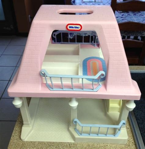 little tikes doll houses vintage little tikes doll house grandma s pink roof house