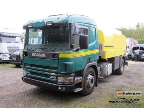 scania 4 series 114 l 340 2000 tank truck photos and info