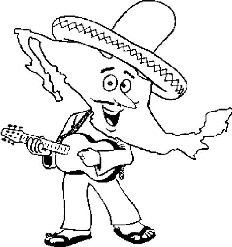 mexican coloring pages mexico coloring pages coloringpagesabc
