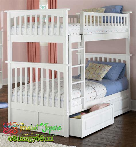 Ranjang Kayu Bertingkat tempat tidur anak susun jual tempat tidur tingkat laci