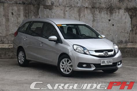 il mobilio review 2015 honda mobilio 1 5 v philippine car news