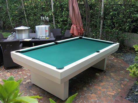 outdoor pool table outdoor pool table home inspiration