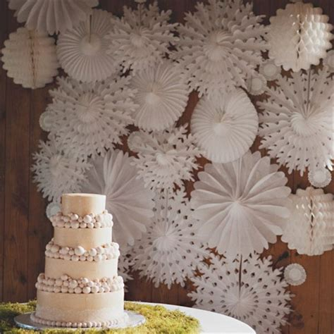 Snowflake Paper Fan 10 30cm 5pcs snowflake paper fans for wedding flowers birthday decoration marriage