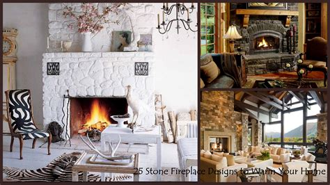 Diy Small Kitchen Ideas 25 interior stone fireplace designs