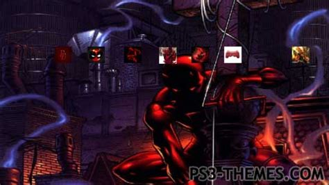 ps4 themes deadpool ps3 themes 187 daredevil deadpool