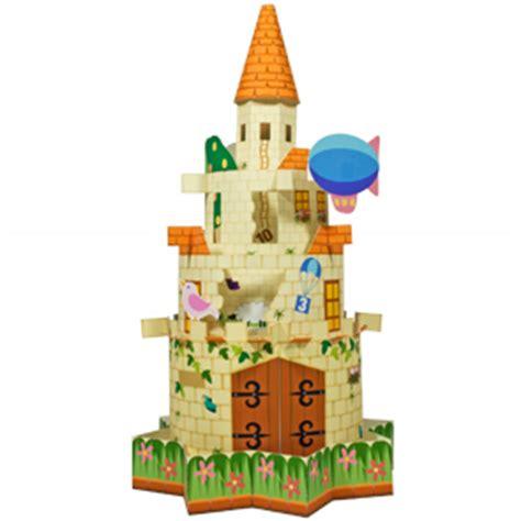 Canon Papercraft Castle Of Snow - maqueta 3d de un curioso castillo de juguete