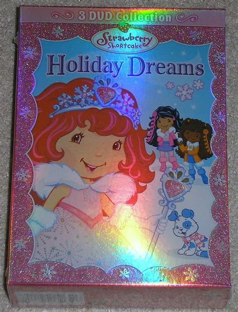 strawberry shortcake holiday dreams  dvd collection  berry merry christmas  ebay