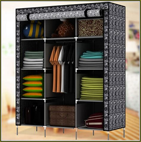 Portable Wood Wardrobe Closet Portable Wood Wardrobe Closet Home Design Ideas