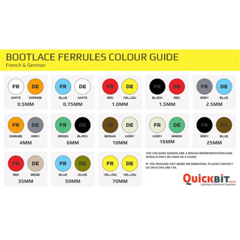 bootlace ferrules french german cable crimps 0 5mm