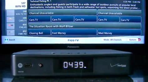 reset verizon fios stb box verizon and motorola announce fios tv media server that