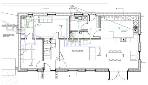 floor layouts designing the ventilation heating and and cold water systems for ben s house