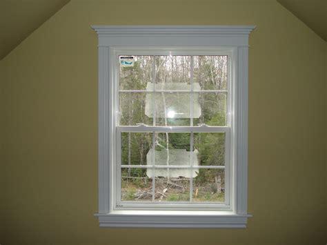 window trim ideas interior