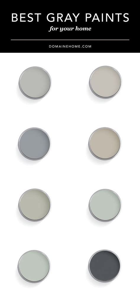 5 best gray paint colors gray paint colors gray and neutral top designers share their favorite gray paint colors