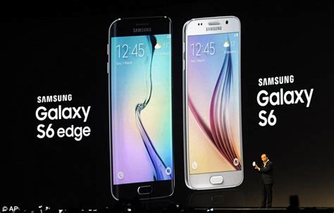 s6 samsung galaxy s6 edge launch tech technology gaming news samsung galaxy s6 and s6 edge with curved screen unveiled