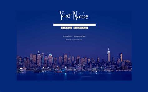 google themes new york newyork google theme