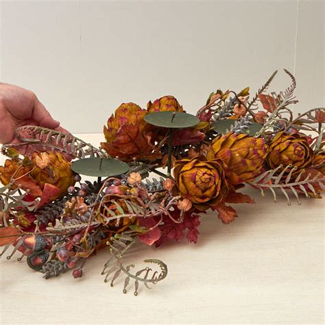 fall harvest three tier candle holder new items