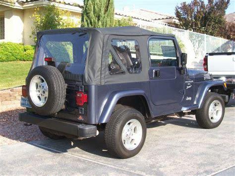 1999 Jeep Sport Recalls 2001 Jeep Wrangler Vin 1j4fa49s61p347578