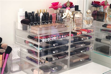 clear makeup drawers like kardashians image gallery kardashian acrylic makeup storage
