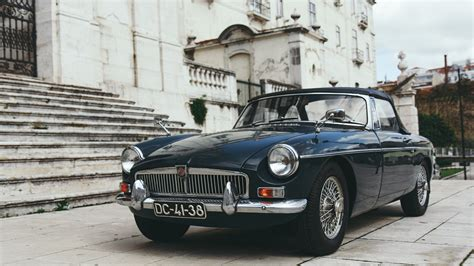 Mg Car Wallpaper Hd by Wallpaper 1600x900 Mg Retro Car Front View Hd