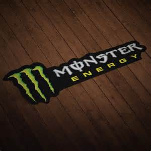 Monster Energy Wall Stickers Adhesivo Monster Energy Drink