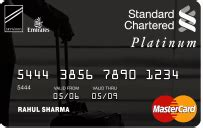 standard chartered bank card airline credit cards