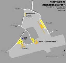 Car Rental Manila International Airport Map Manila Ninoy Aquino International Airport Naia